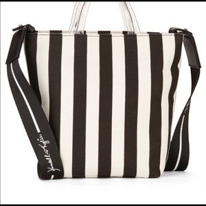 NWT Black-White Mini Tote Bag Kendall & Kylie